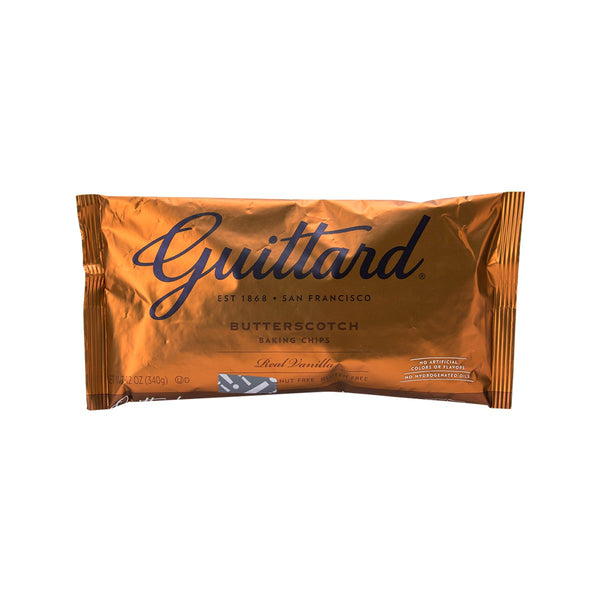 GUITTARD Butterscotch Baking Chips  (340g)