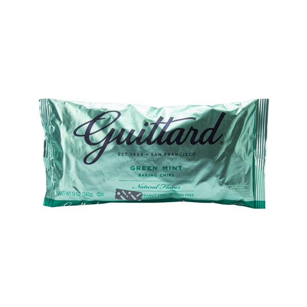 GUITTARD Green Mint Chips  (340g)