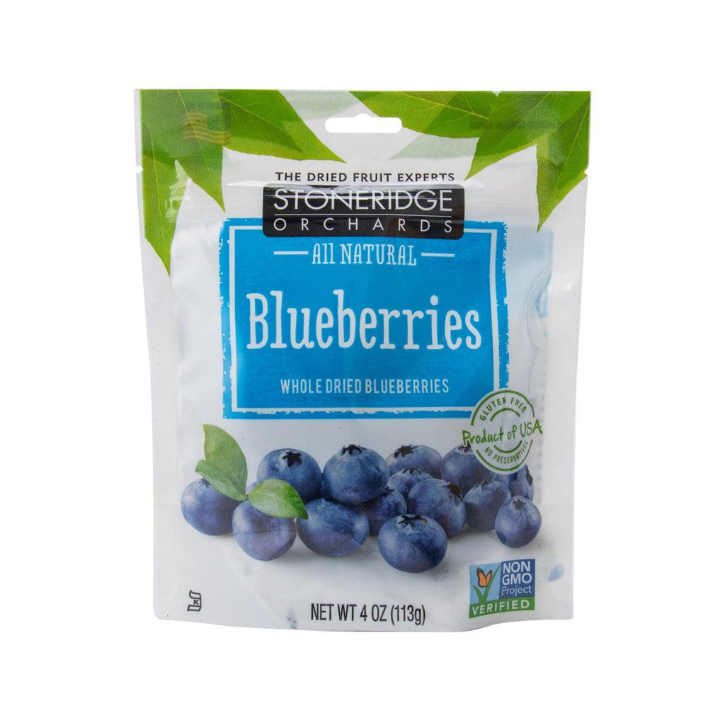 STONERIDGE Whole Dried Blueberries  (113g)