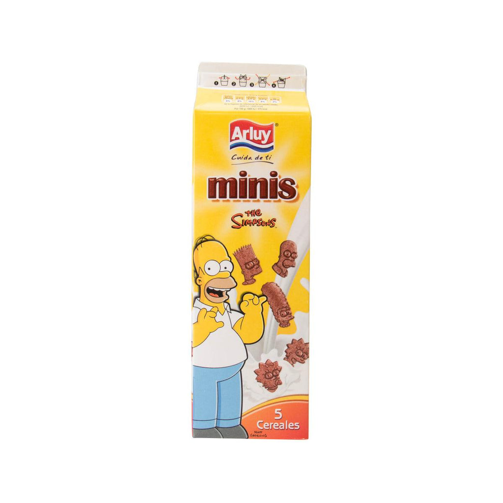 Arluy Simpsons Chocolate Cereal Biscuit(275g)