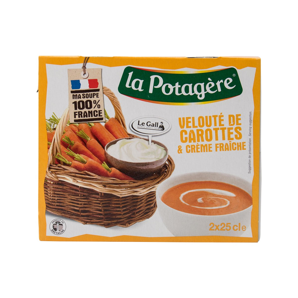 LA POTAGERE Cream of Carrot Soup  (500mL)