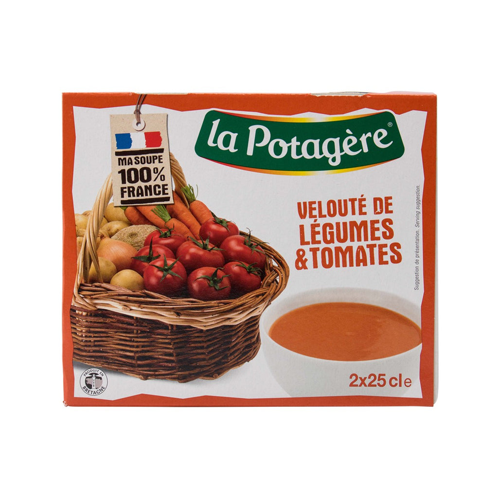La Potagere Tomatoes And Vegetables Creamy Soup(2 x 250mL)