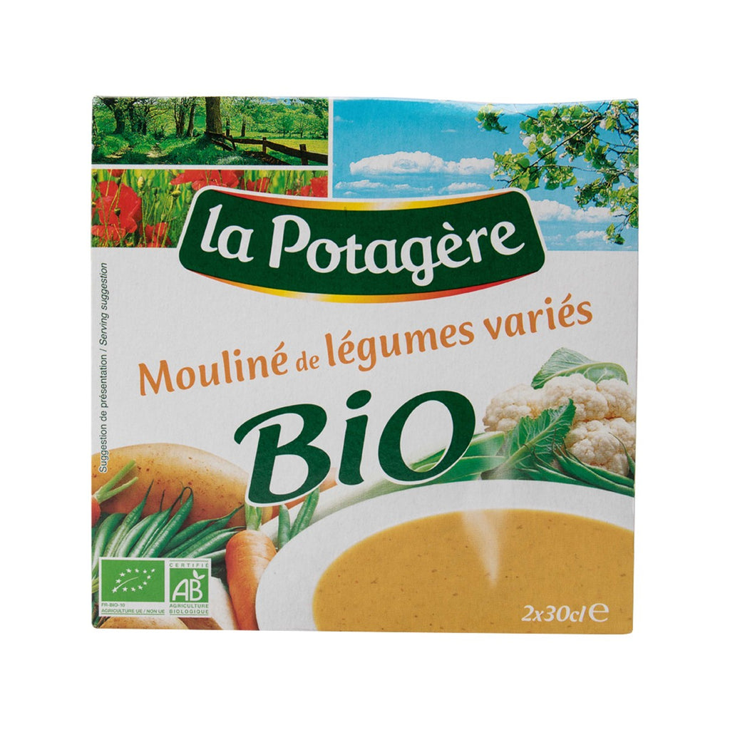 La Potagere Organic Mixed Vegetables Soup(600mL)