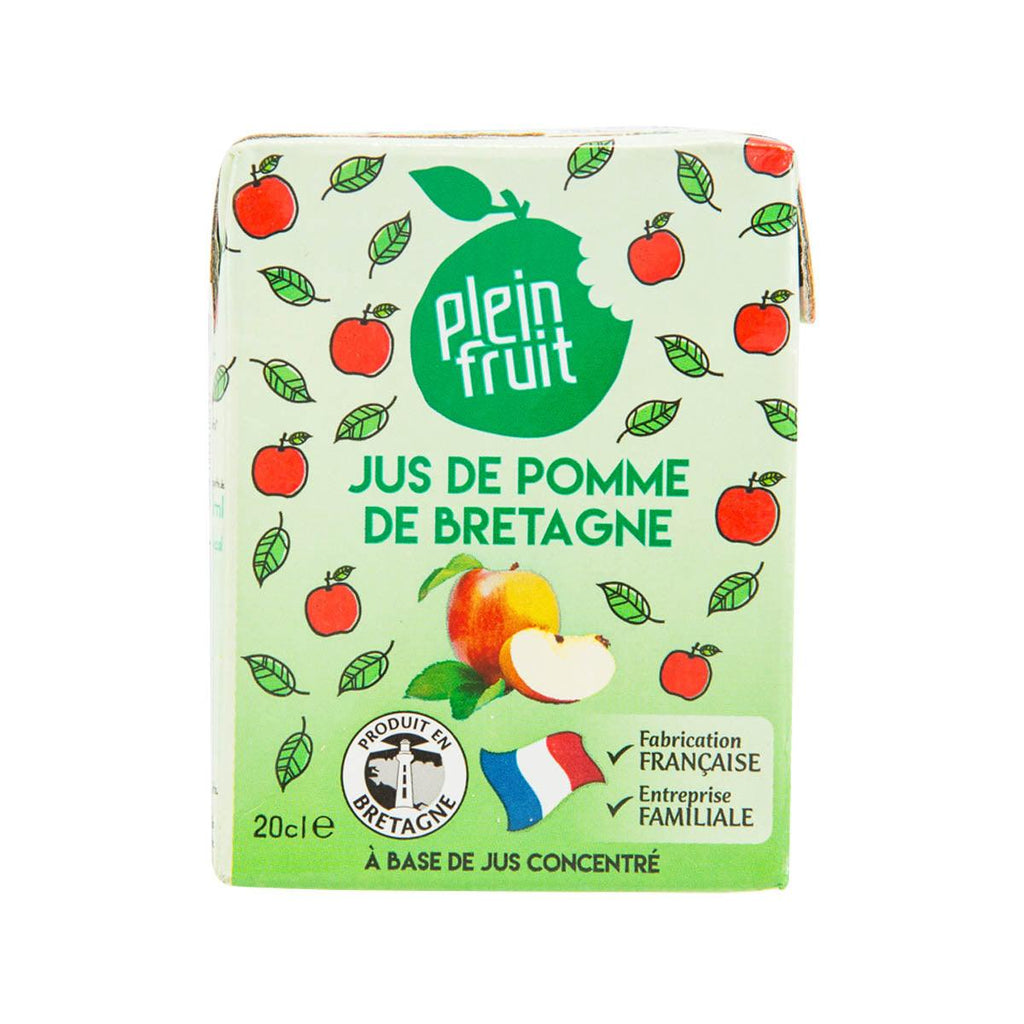 PLEIN FRUIT Apple Juice - from Concentrate  (200mL)