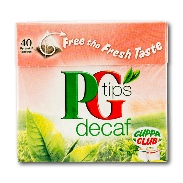 PG Tips Decaf Pyramid Teabags(125g)