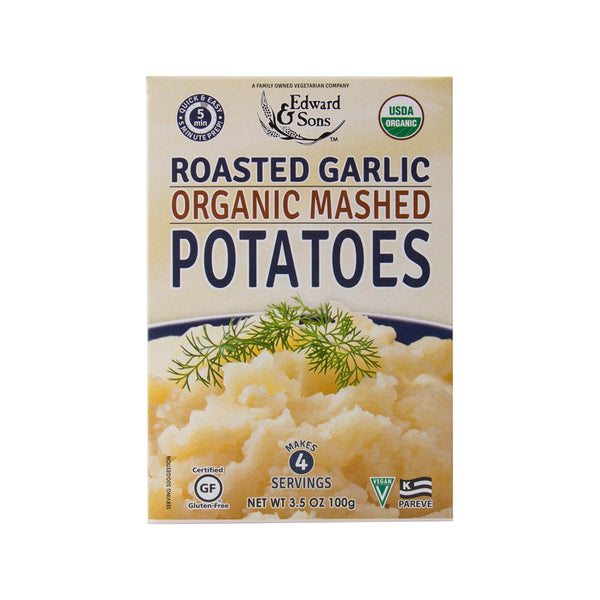Edward & Sons Organic Mashed Potatoes Mix - Roasted Garlic(100g)