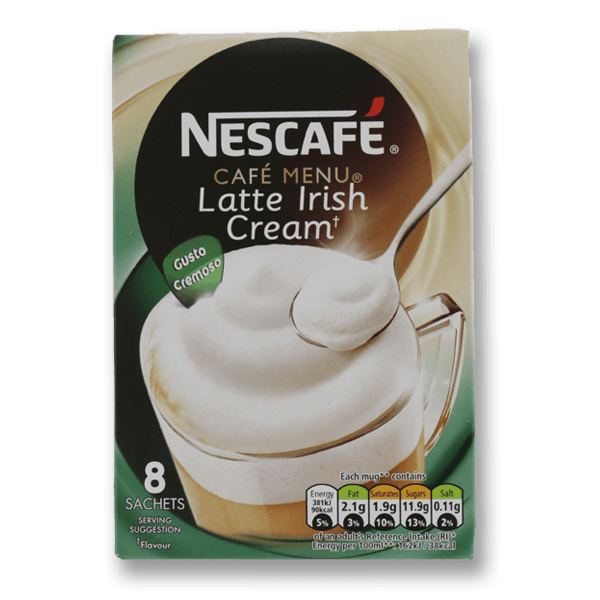 NESCAFE Instant Coffee - Irish Cream Flavour  (176g)