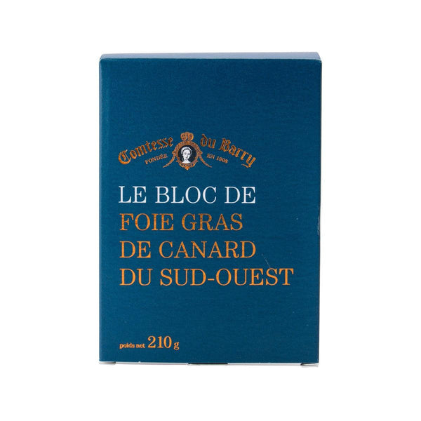COMTESSE DU BARRY Block of Duck Foie Gras From Sud-Ouest  (200g)