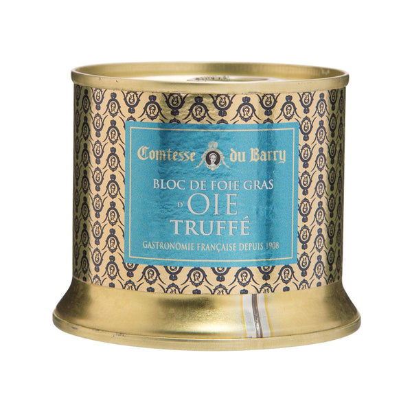 COMTESSE DU BARRY Whole Goose Liver With Truffle - Tin  (150g)
