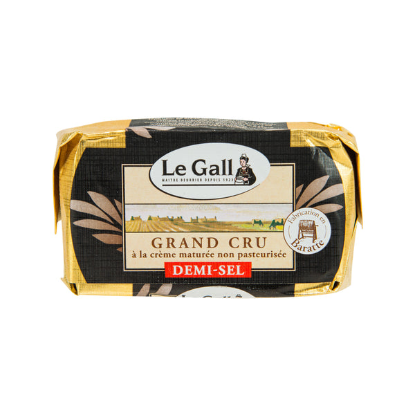LE GALL Raw Milk Churned Butter - Salted  (250g)