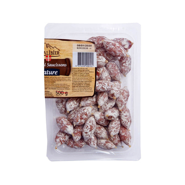 HENRI RAFFIN Mini French Salami Balls - Plain  (100g)