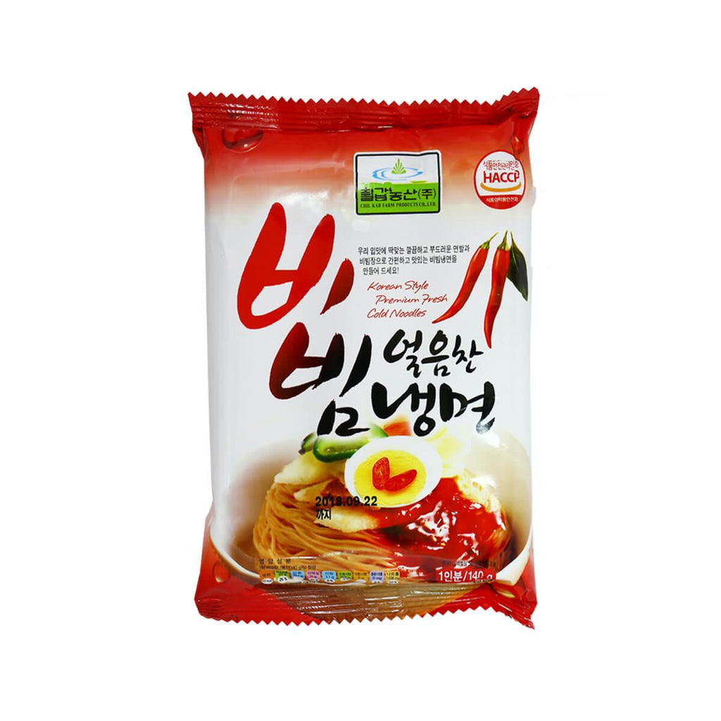 Chilkab Nongsan Korean Style Premium Fresh Cold Noodles(140g)