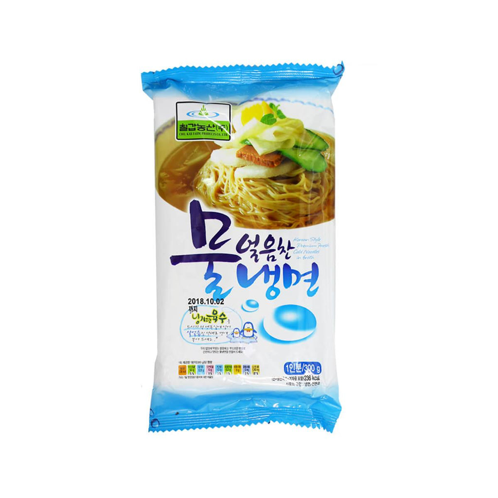 CHILKAB FARM Korean Style Premium Fresh Cold Noodles In Broth  (341g)