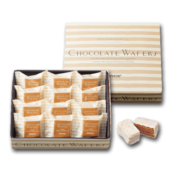 ROYCE' Chocolate Wafers - Tiramisu Cream  (12pcs)