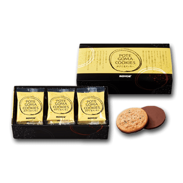 ROYCE' Pote Goma Cookies - Potato Sesame  (15pcs)
