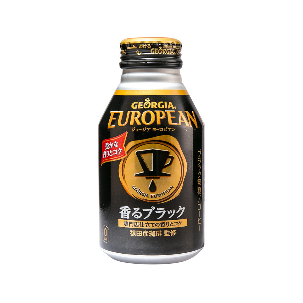 GEORGIA European Black Coffee  (260mL)