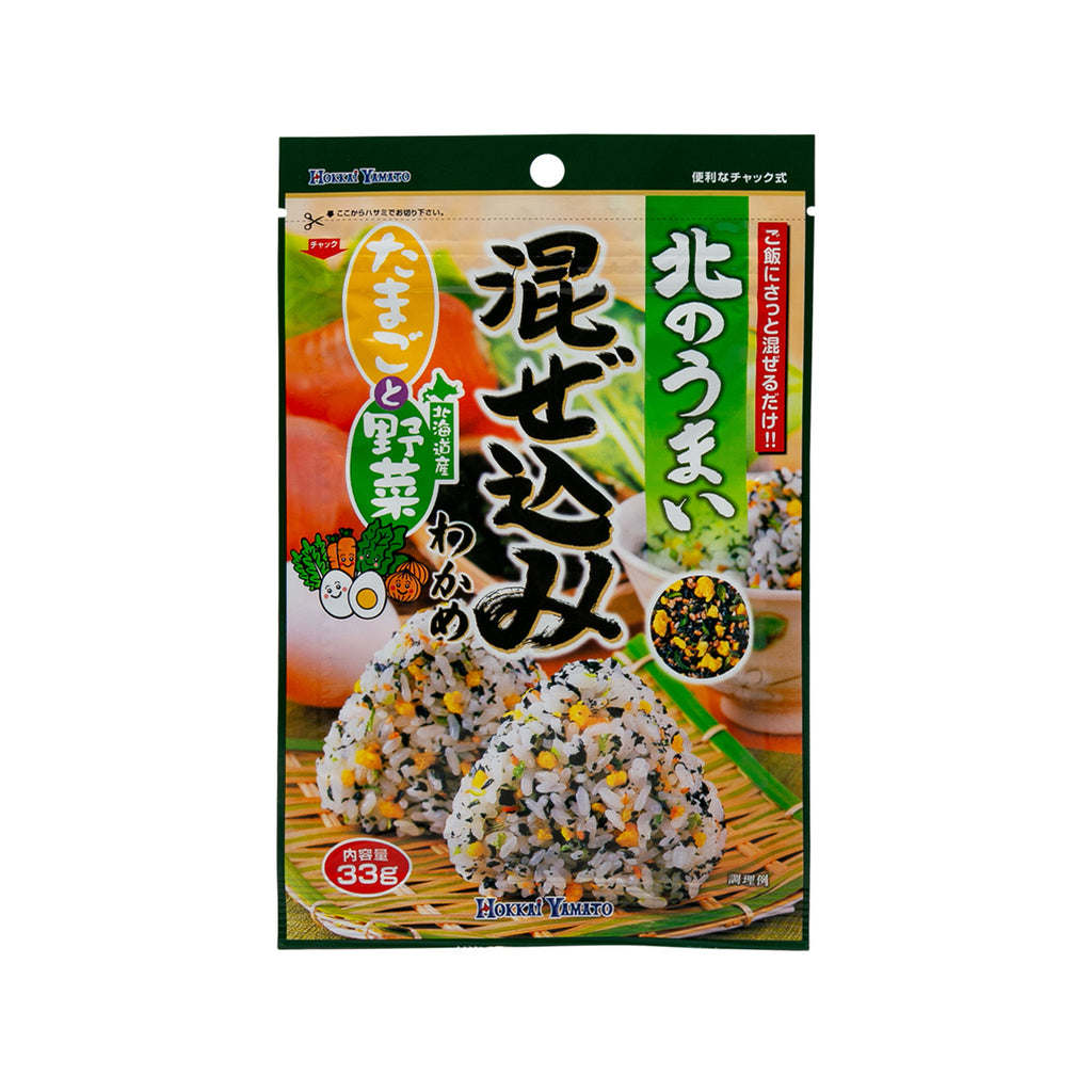 HOKKAIYAMATO Vegetable Egg Rice Topping  (33g)