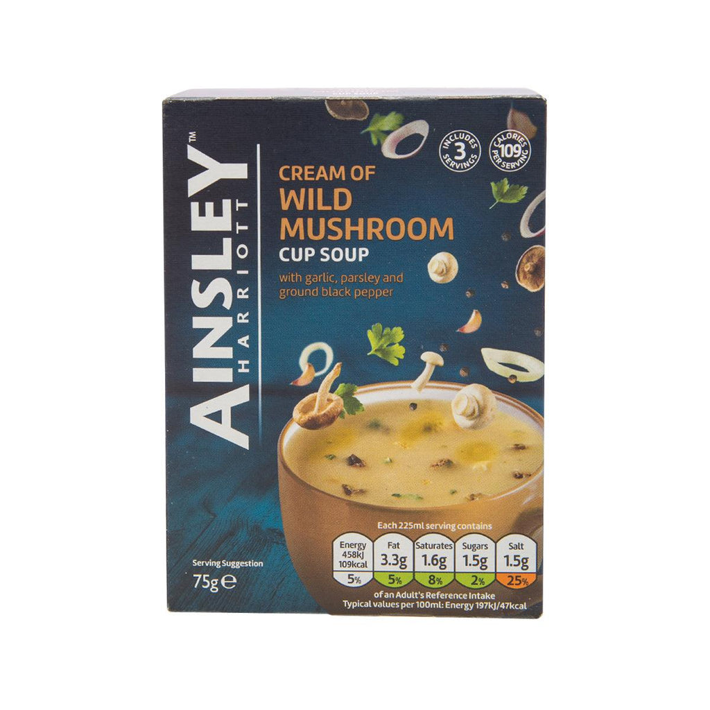 AINSLEY HARRIOTT Cream of Wild Mushroom Cup Soup  (75g)