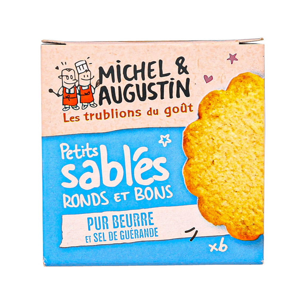 MICHEL & AUGUSTIN Mini Biscuits with Butter & Salt  (40g)