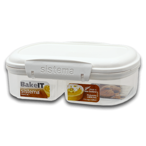 SISTEMA Klip It Bekery Split Box 630mL