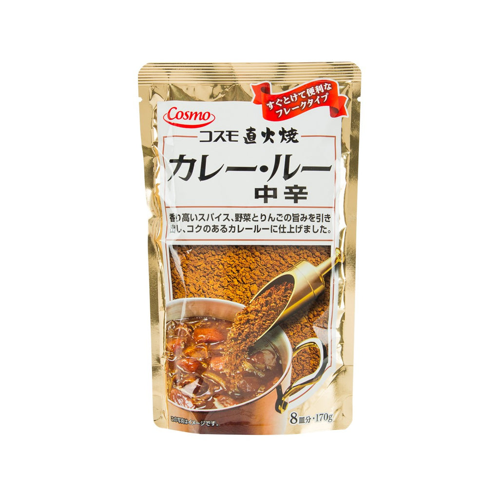 COSMO FOODS Curry Roux Powder - Medium Hot  (170g)