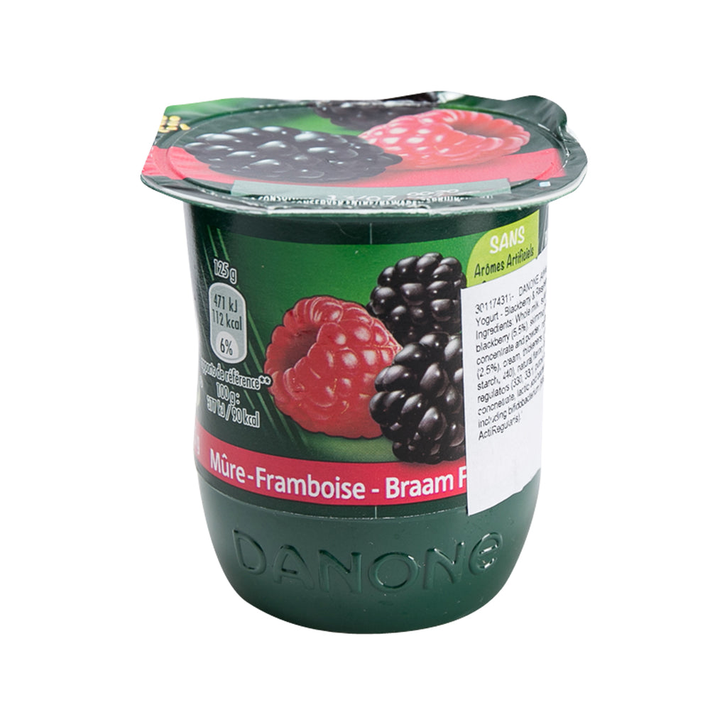 Danone Activia Fruit Yogurt - Blackberry & Raspberry(125g)