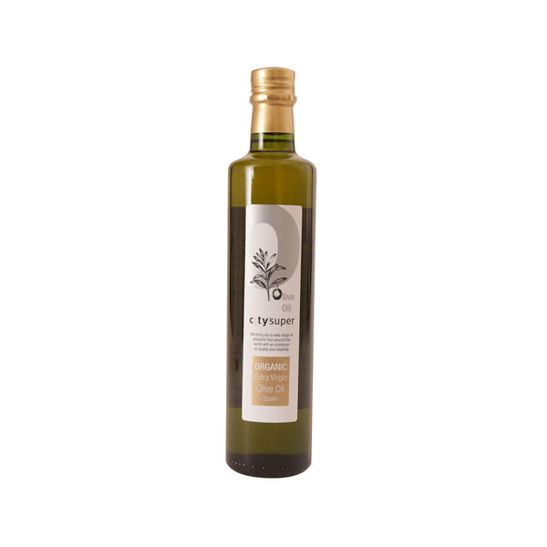 CITYSUPER Organic Extra Virgin Olive Oil - Spain  (500mL)