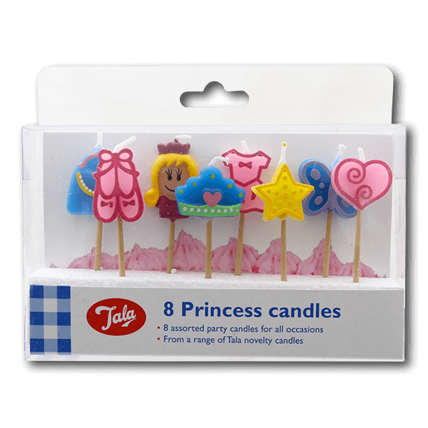 TALA Princess Candles  (8pcs)