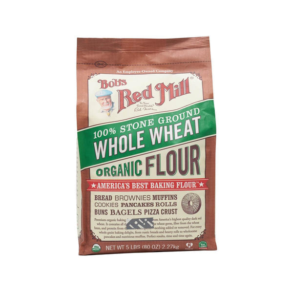 BOB'S RED MILL Organic Wholewheat Flour  (2.27kg)