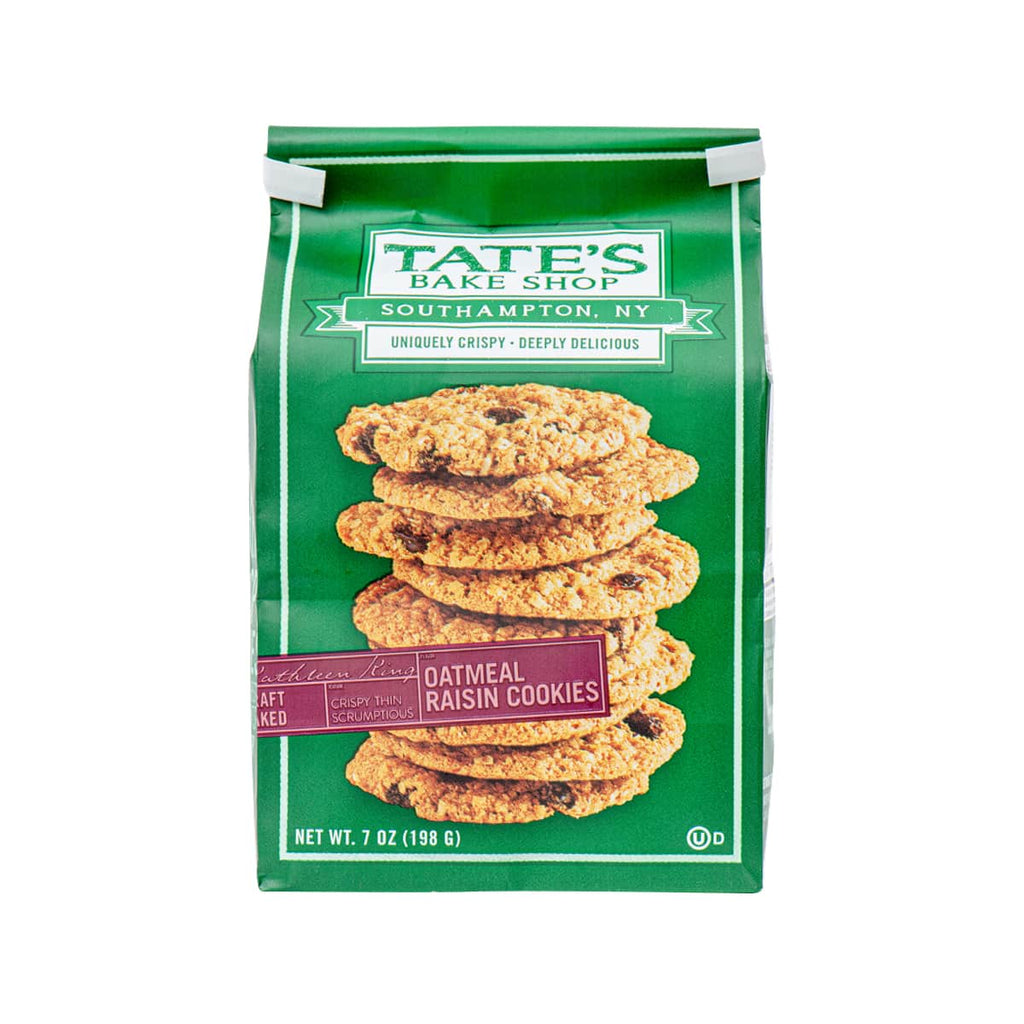 TATE'S Oatmeal Raisin Cookies  (198g)