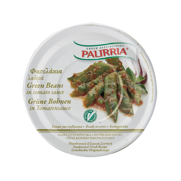 PALIRRIA Green Beans in Tomato Sauce  (280g)
