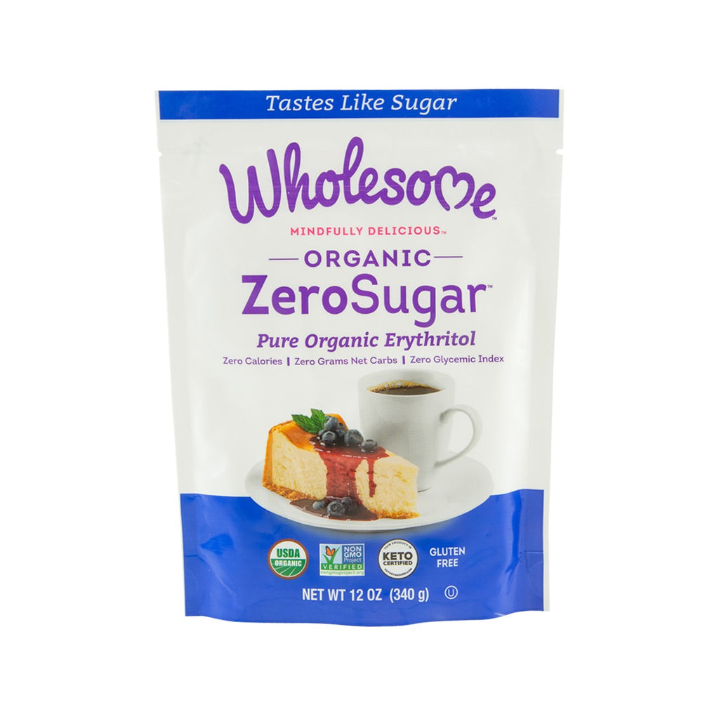 WHOLESOME SWEETENERS All Natural Zero Calorie Free Sweetener  (340g)