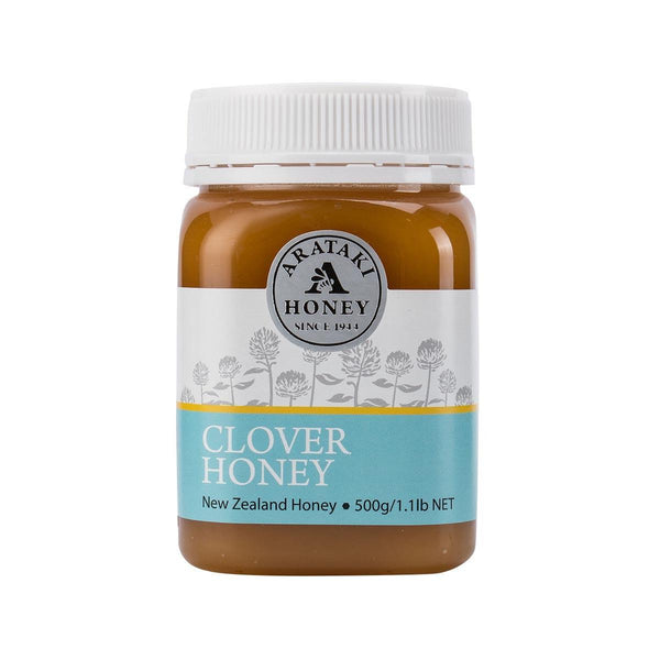 Arataki Clover Honey - Creamed(500g)