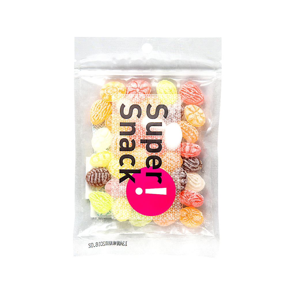 SUPERSNACK Fruit Flavored Drops Candy  (88g)
