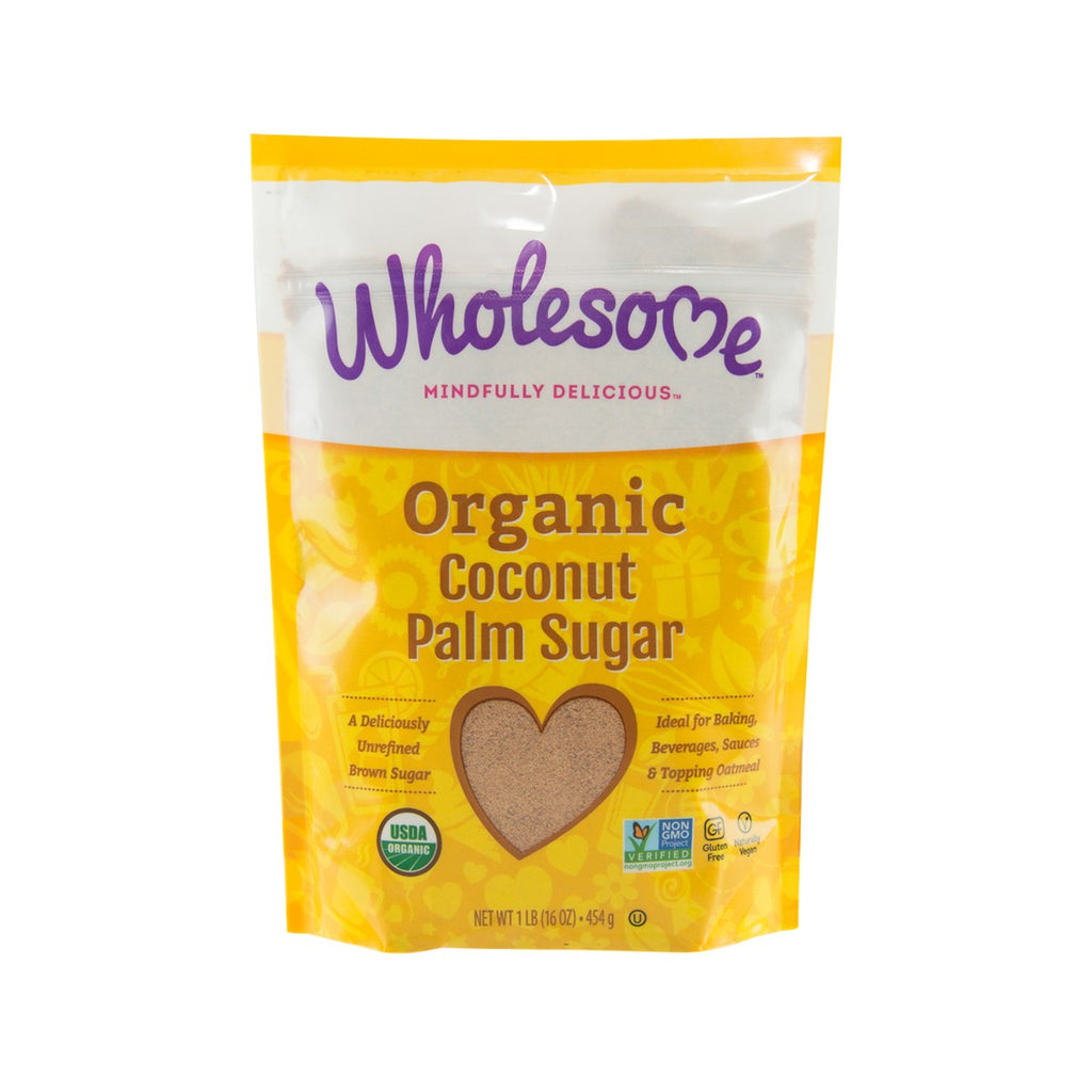 WHOLESOME SWEETENERS Organic Coconut Palm Sugar  (454g)