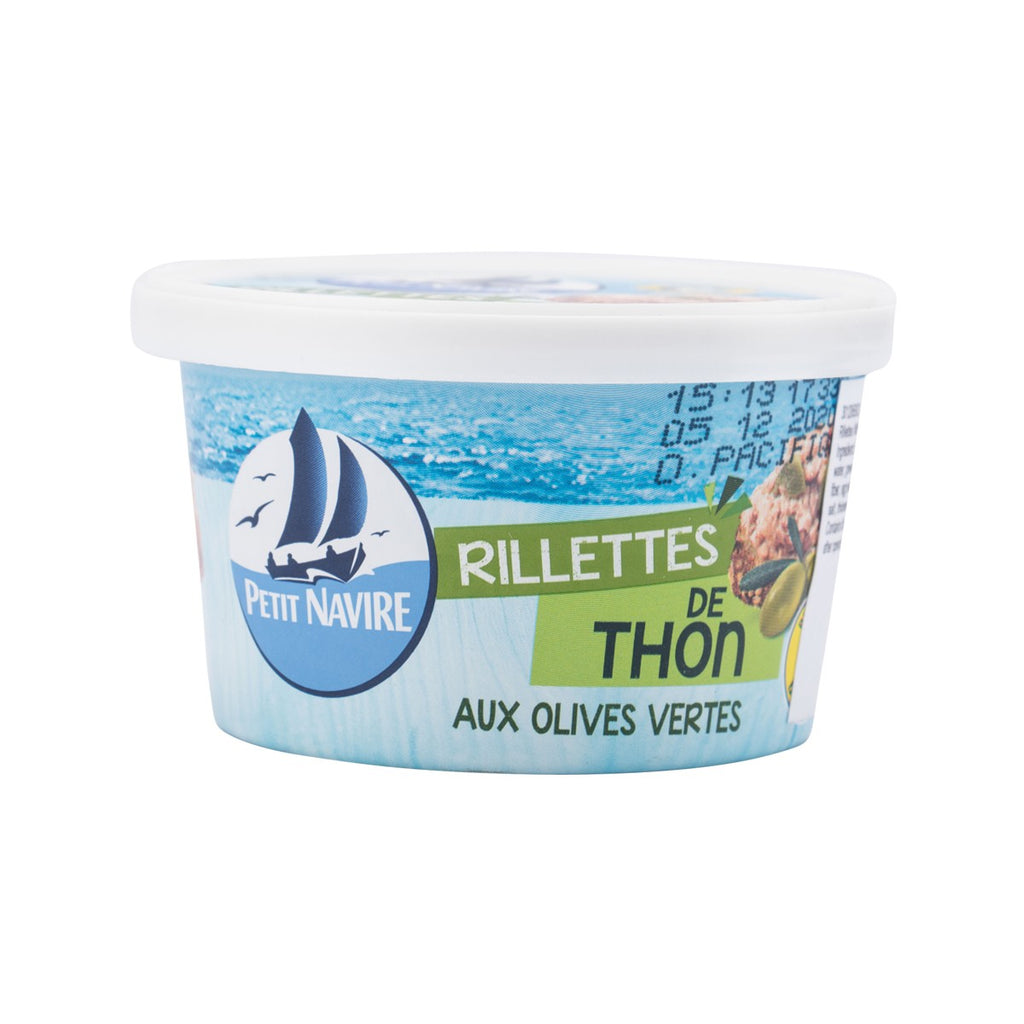 Petit Navire Tuna Rillettes With Green Olives(125g)
