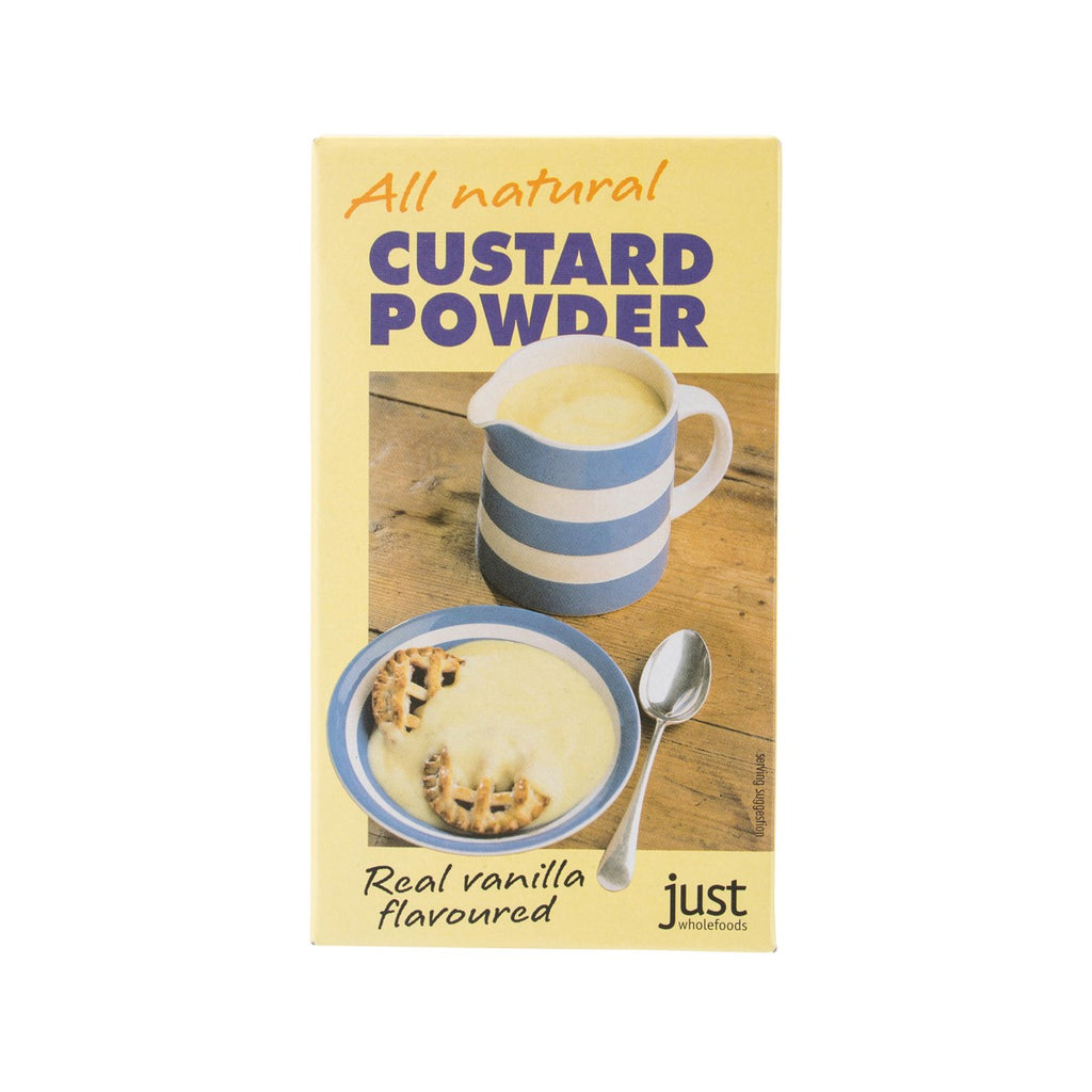 JUST WHOLEFOODS All Natural Custard Powder  (100g)