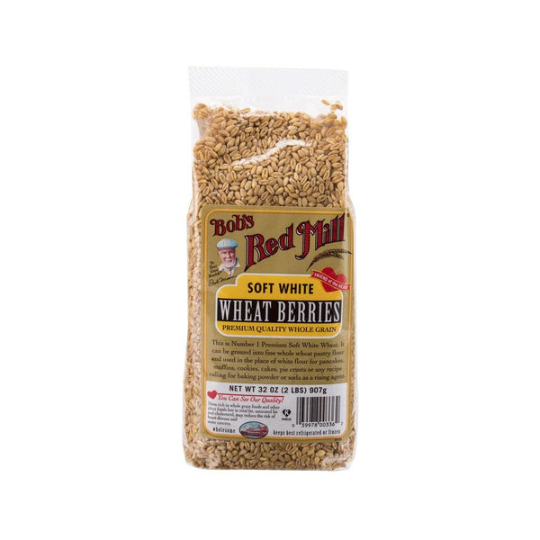 Bob'S Red Mill Soft White Wheat Berries(907g)