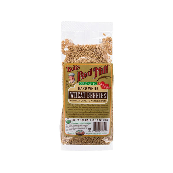 Bob'S Red Mill Organic Hard White Wheat Berries(793g)