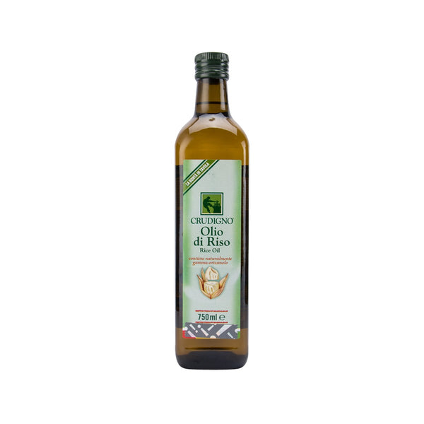 CRUDIGNO Rice Bran Oil  (750mL)