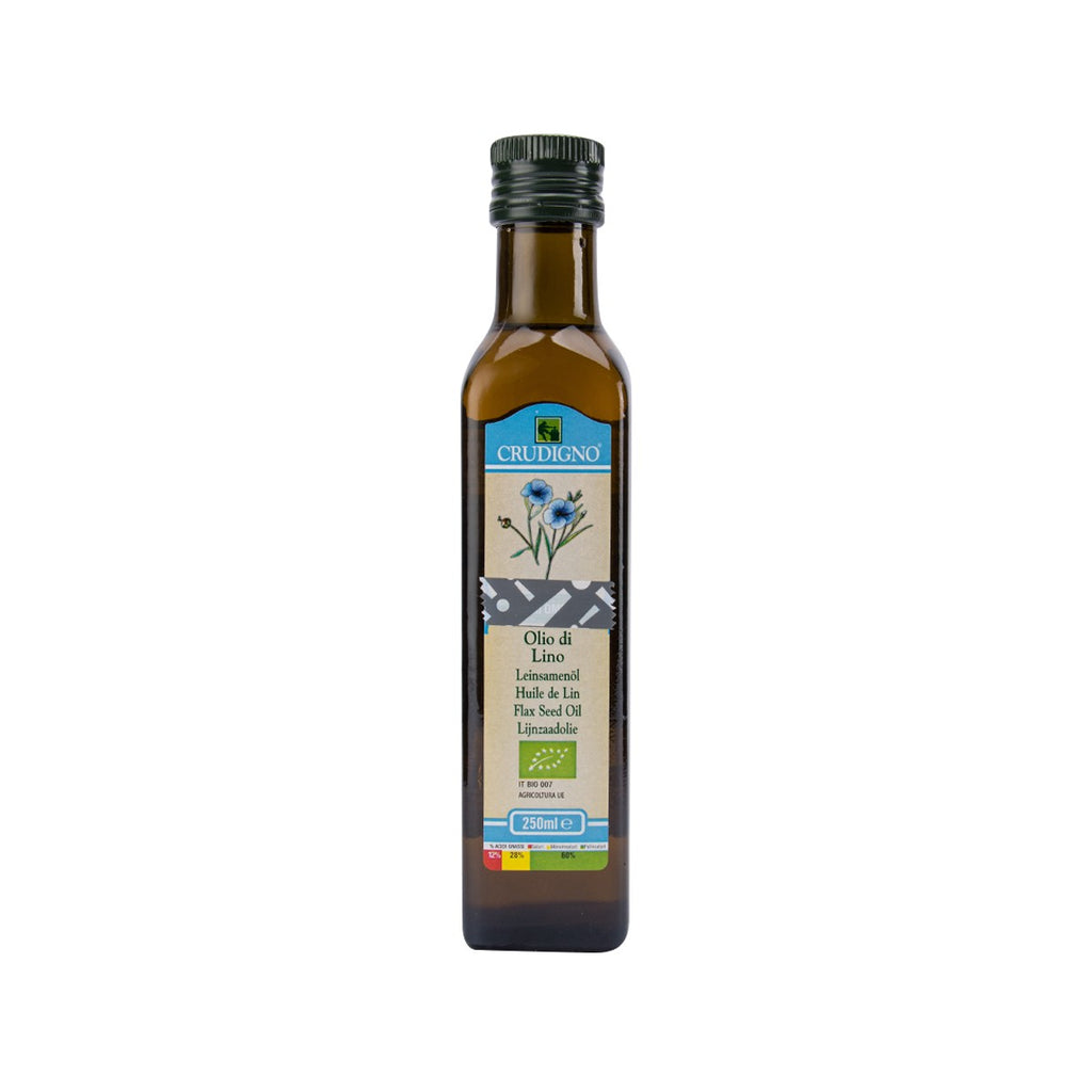 Crudigno Flax Seed Oil(250mL)