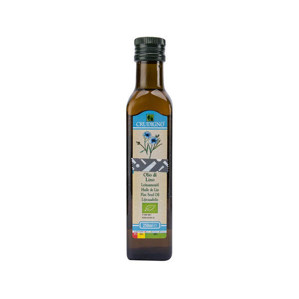 CRUDIGNO Flax Seed Oil  (250mL)