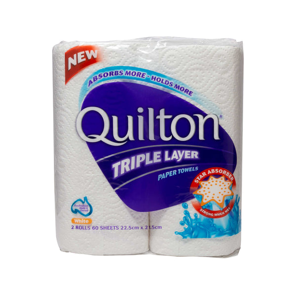 QUILTON 3 Ply Kitchen Towel - 60 Sheets