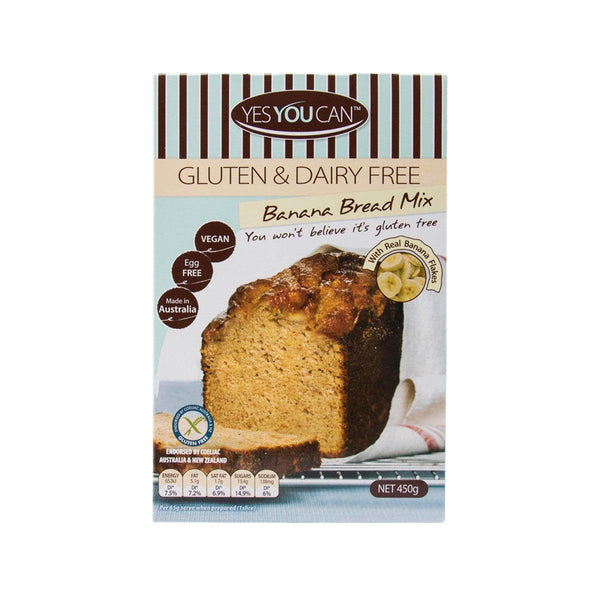 YESYOUCAN Banana Bread Mix  (450g)