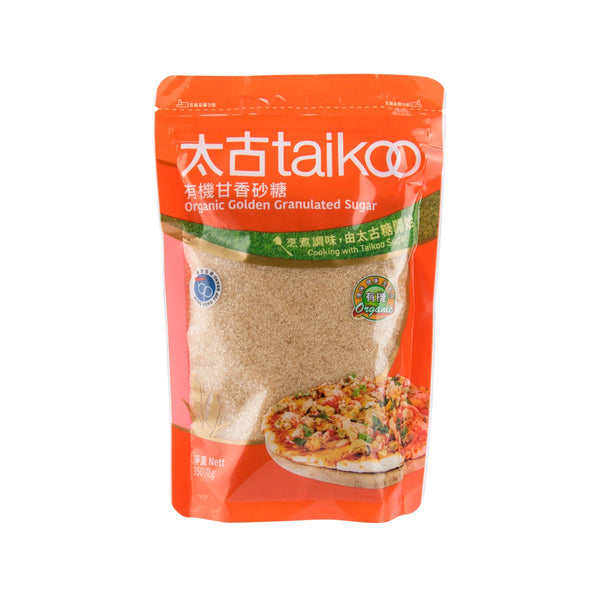TAIKOO Organic Golden Granulated Sugar  (350g)