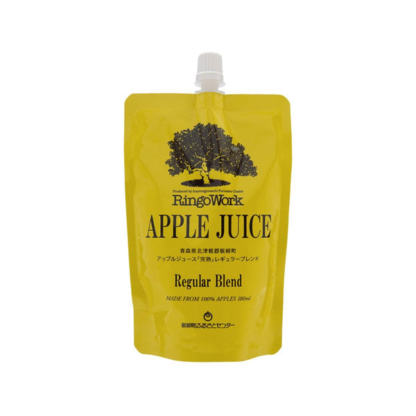 RINGOWORK Apple Juice - Regular Blend  (180mL)