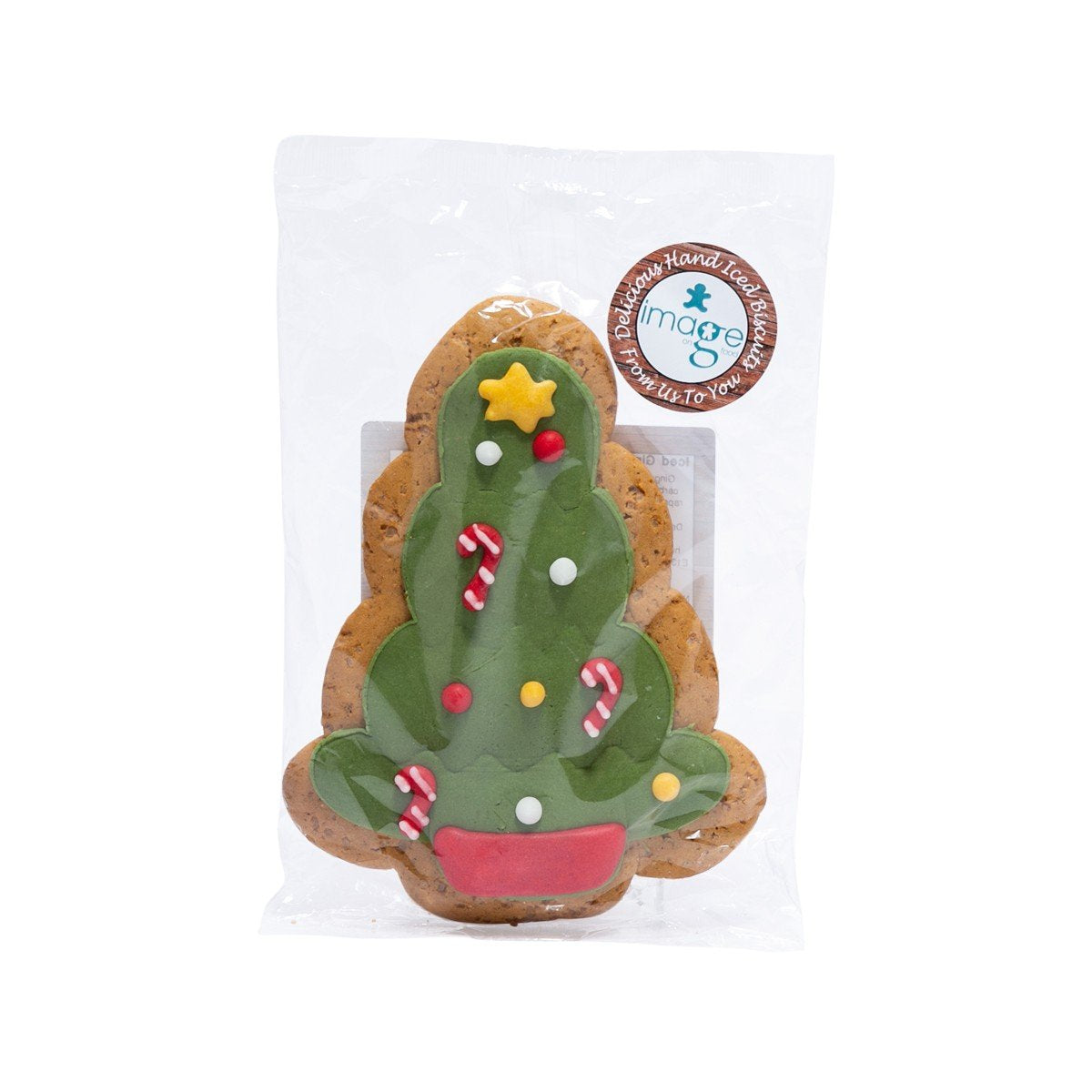 IMAGE ON FOOD Iced Gingerbread - Christmas Tree (65g) – city\'super