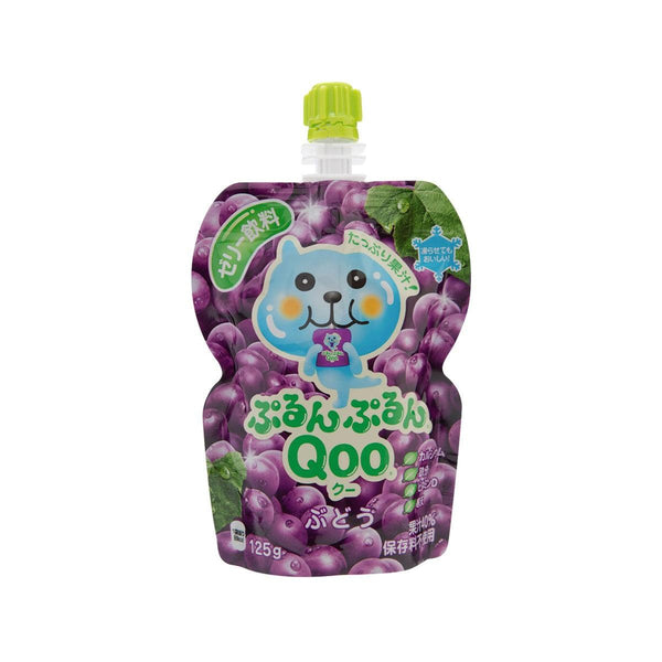 MINUTE MAID Purun Purun QOO Jelly Drink - Grape  (125g)