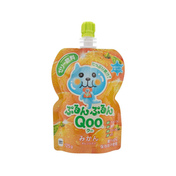 MINUTE MAID Purun Purun QOO Jelly Drink - Mikan Orange  (125g)