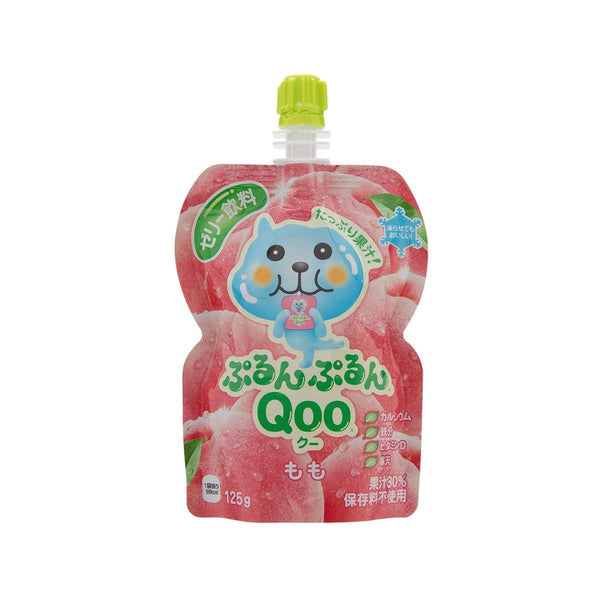 MINUTE MAID Purun Purun QOO Jelly Drink - Peach  (125g)